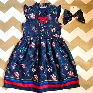 Janie and Jack dress and bow